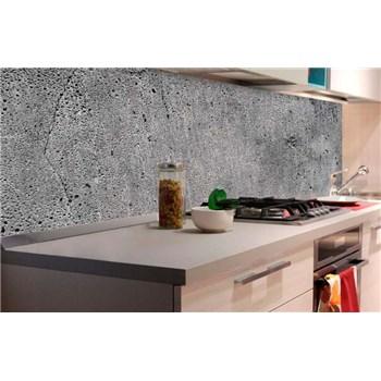 Samolepiace tapety za kuchynskú linku betón sivý rozmer 180 cm x 60 cm