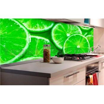 Samolepiace tapety za kuchynskú linku limetky rozmer 180 cm x 60 cm