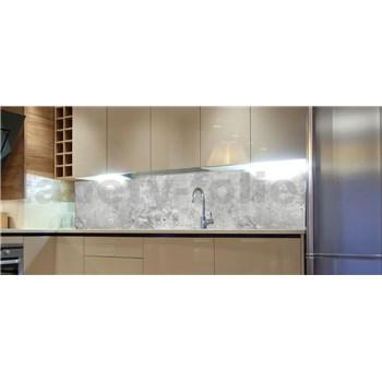 Samolepiace tapety za kuchynskú linku betón Concrete II rozmer 180 cm x 60 cm