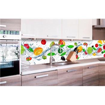 Samolepiace tapety za kuchynskú linku ovocie rozmer 260 cm x 60 cm