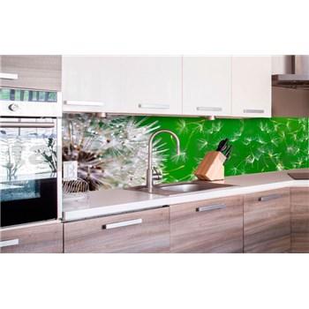 Samolepiace tapety za kuchynskú linku púpavy rozmer 260 cm x 60 cm