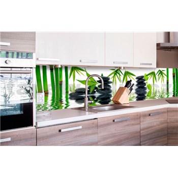 Samolepiace tapety za kuchynskú linku ZEN kamene rozmer 260 cm x 60 cm