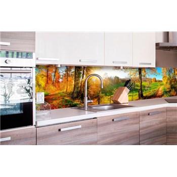 Samolepiace tapety za kuchynskú linku lúka rozmer 260 cm x 60 cm