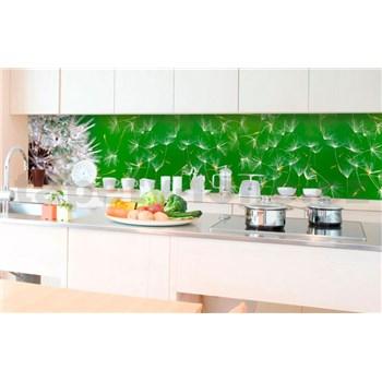 Samolepiace tapety za kuchynskú linku púpavy rozmer 350 cm x 60 cm