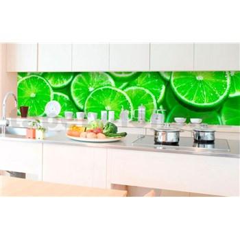 Samolepiace tapety za kuchynskú linku limetky rozmer 350 cm x 60 cm