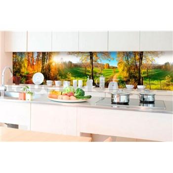 Samolepiace tapety za kuchynskú linku lúka rozmer 350 cm x 60 cm