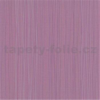 Vliesové tapety Lacantara 1 - prúžky - fialové