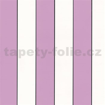 Tapety Lacantara 3 - pruhy ružovo-fialové