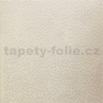 Tapety na stenu La Veneziana 3 kvapky bielej na svetlo hnedom podklade