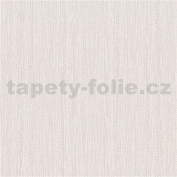 Vliesové tapety na stenu La Veneziana IV stromčekový vzor strieborný na bielom podklade
