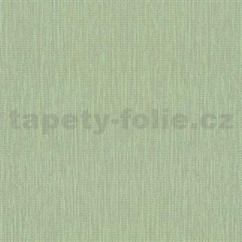 Vliesové tapety na stenu La Veneziana IV stromčekový vzor strieborný na limetkovom podklade