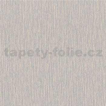 Vliesové tapety na stenu La Veneziana IV stromčekový vzor strieborný na béžovom podklade