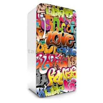 Samolepiace tapety na chladničku graffiti rozmer 120 cm x 65 cm