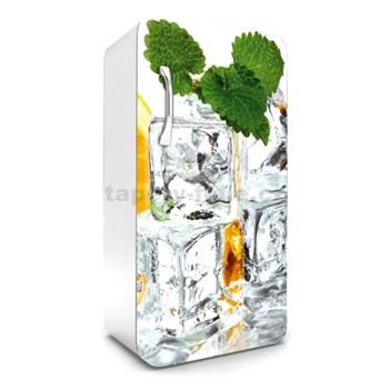 Samolepiace tapety na chladničku kocky ľadu s matou rozmer 120 cm x 65 cm