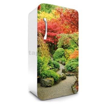 Samolepiace tapety na chladničku jesenná záhrada rozmer 120 cm x 65 cm