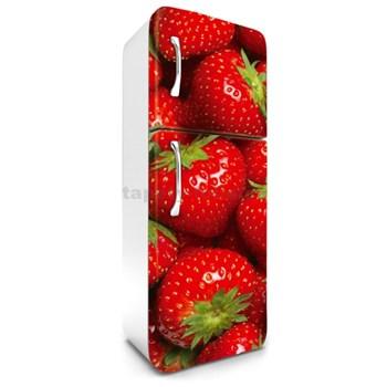 Samolepiace tapety na chladničku jahody rozmer 180 cm x 65 cm