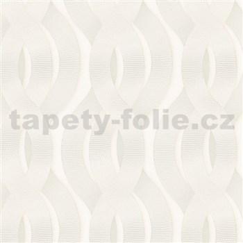 Luxusné vliesové tapety na stenu Colani Legend preplietané vlny krémové