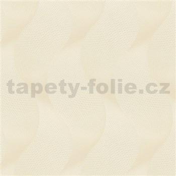 Luxusné vliesové tapety na stenu Colani Legend vlny svetlo hnedé