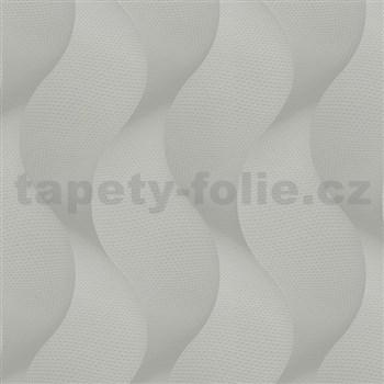 Luxusné vliesové tapety na stenu Colani Legend vlny svetlo sivé