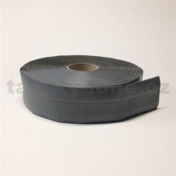 Podlahová lemovka z PVC samolepiaca sivá 5,5 cm x 25 m
