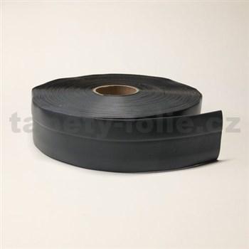 Podlahová lemovka z PVC tmavě šedá 5,5 cm x 40 m