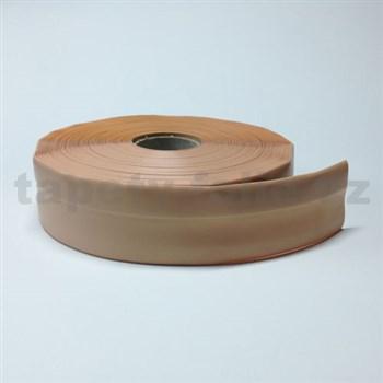 Podlahová lemovka z PVC samolepiaca telová 5,5 cm x 25 m