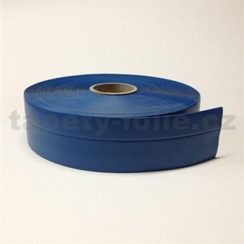 Podlahová lemovka z PVC modrá 5,5 cm x 40 m