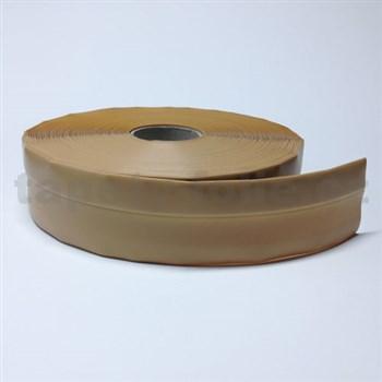 Podlahová lemovka z PVC samolepiaca béžová 5,5 cm x 25 m