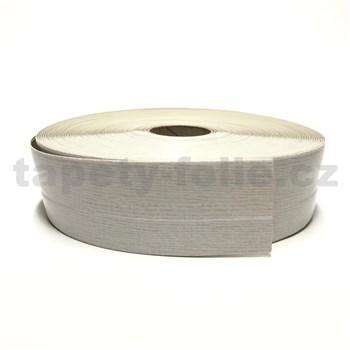 Podlahová lemovka z PVC samolepiaca drevo  dub bielený 5,3 cm x 30 m