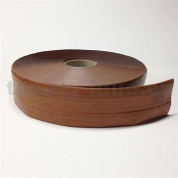 Podlahová lemovka z PVC dřevo světle hnědé 5,5 cm x 40 m