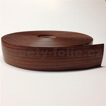 Podlahová lemovka z PVC samolepiaca brest hnedý 5,5 cm x 25 m