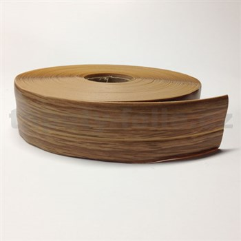Podlahová lemovka z PVC samolepiaca brest béžovo-hnedý 5,5 cm x 25 m