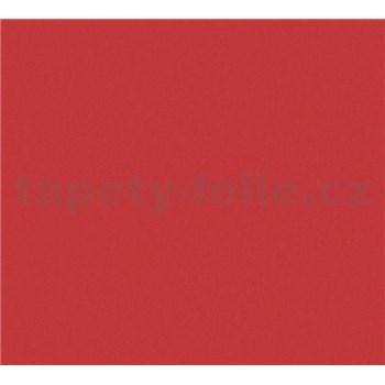 Detské vliesové tapety na stenu Little Stars jednofarebné červené