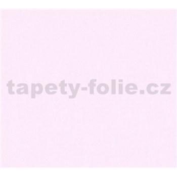 Detské vliesové tapety na stenu Little Stars jednofarebné svetlo ružové