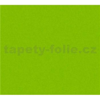 Detské vliesové tapety na stenu Little Stars jednofarebné tmavo zelené