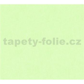 Detské vliesové tapety na stenu Little Stars jednofarebné zelené