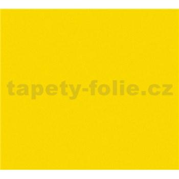 Detské vliesové tapety na stenu Little Stars jednofarebné žlté