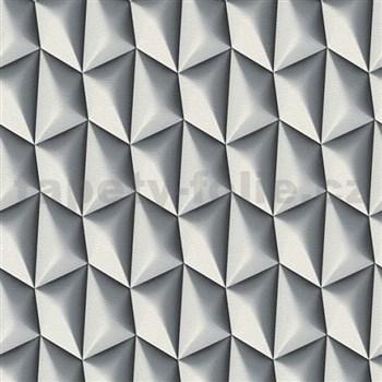 Vliesové tapety na stenu Harmony in Motion by Mac Stopa 3D tmavo sivý