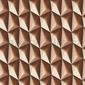 Vliesové tapety na stenu Harmony in Motion by Mac Stopa 3D hnedý - POSLEDNÉ KUSY