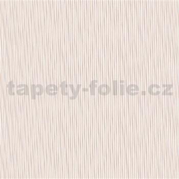 Moderné tapety na stenu IMPOL Novella malé vlnovky svetlo hnedé