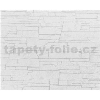 Vliesové tapety Suprofil - kamenný obklad - biely odtieň