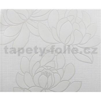 Tapety vliesové The Best - Flowers - biele