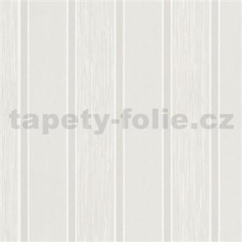 Vliesové tapety na stenu At Home - pruhy krémové