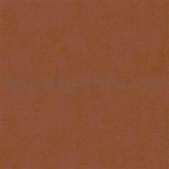 Vliesové tapety na stenu La Veneziana - bronzovo-vínovej s metalickým efektom