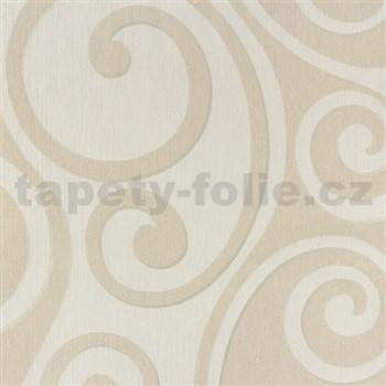 Vliesové tapety na stenu Di Moda Secesia bielo-krémová