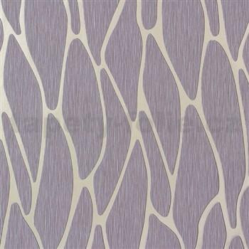 Vliesové tapety na stenu Homestory abstraktné elipsy zlaté svetle