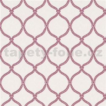Vliesové tapety na stenu Zuhause Wohnen3 - Vintage style ružové