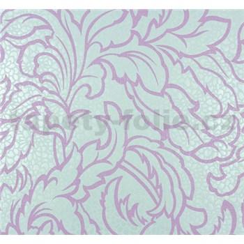 Vliesové tapety na stenu Messina listy fialové