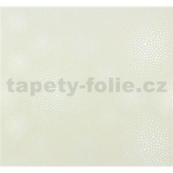 Vliesové tapety na stenu Messina kolieska krémovo perleťové