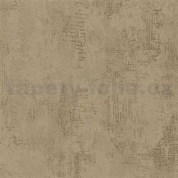 Vliesové tapety na stenu Nabucco štruktúrovaná omietka zlato-medená